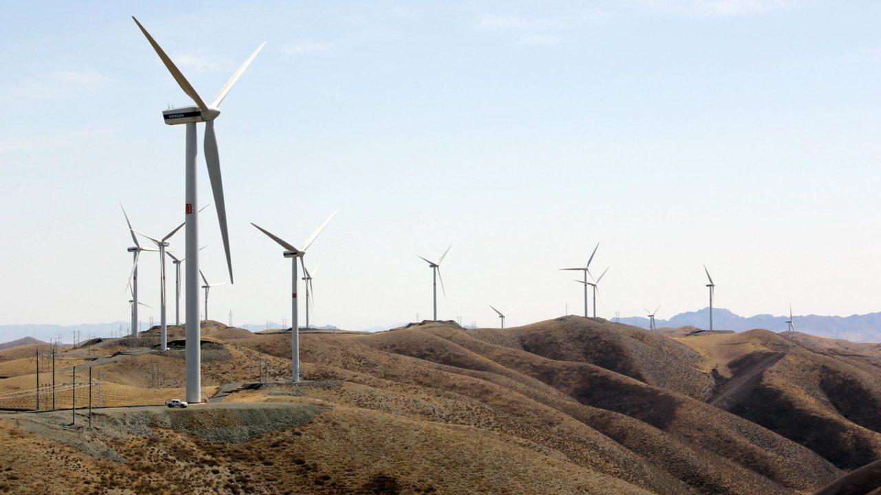 NBT Linxi wind farm China